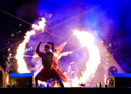 огнено и светлинно шоу за сватби