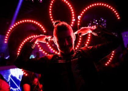 огнено и светлинно шоу за рожден ден снимка 4